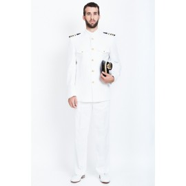 UNIFORME BLANCO MARINA MERCANTE