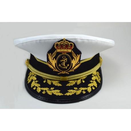 Gorra de la banda de CC y TT del Sto. Xto. de las Tres Caídas de Triana