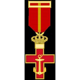 Cruz al merito Naval distintivo Rojo