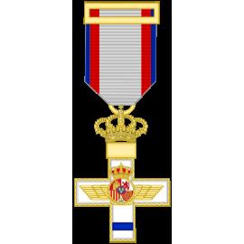 Cruz al merito Aeronautico distintivo amarillo