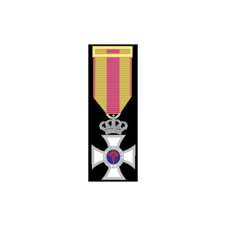 Medalla constancia plata