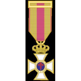 Medalla constancia oro