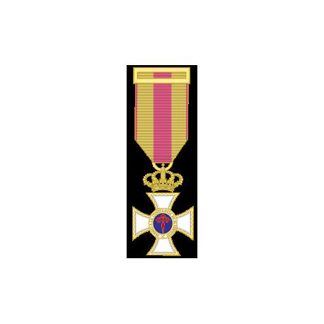 Medalla constancia oro miniatura