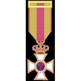 Medalla constancia bronce (mediana)