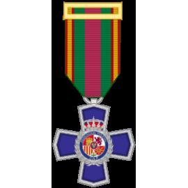 Medalla a la dedicación al Servicio policial 25 Años