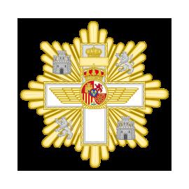 Gran cruz al merito Aeronautico distintivo blanco
